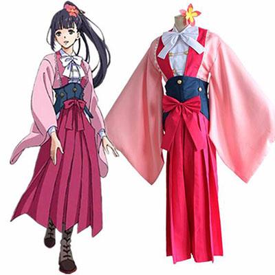 Koutetsujou no Kabaneri Ayame Yomogawa Cosplay Costume