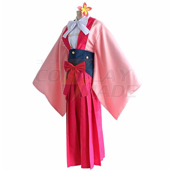 Koutetsujou no Kabaneri Ayame Yomogawa Cosplay Kostume