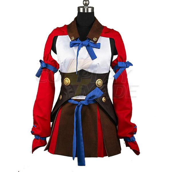 Costumi Koutetsujou no Kabaneri Mumei Cosplay Carnevale