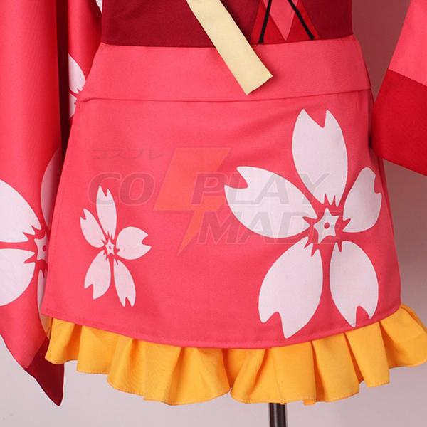 Koutetsujou no Kabaneri Mumei Kimono Cosplay Costume Halloween