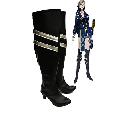 K Return of Kings Anime Awashima Seri Cosplay Schoenen Laarzen Speciaal Gemaakt