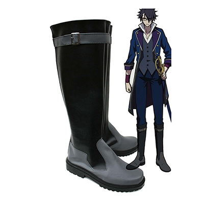 K Return of Kings Anime Fushimi Saruhiko Cosplay Scarpe Stivali Carnevale