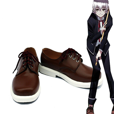 K Return of Kings Anime Isana Yashiro Cosplay Sapatos Chuteiras Carnaval Castanho