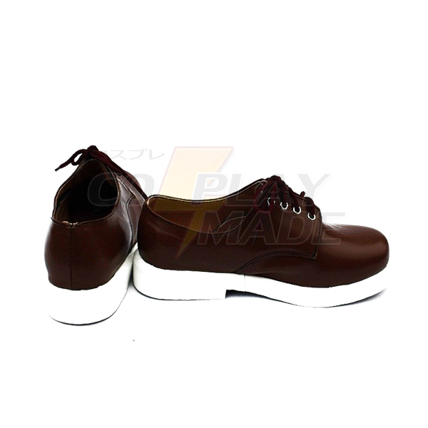 K Return of Kings Anime Isana Yashiro Cosplay Shoes Boots Custom Made Brown