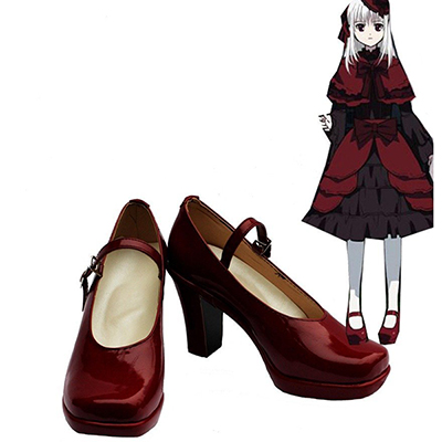 K Return of Kings Anime Kushina Anna Cosplay Schoenen Laarzen Speciaal Gemaakt