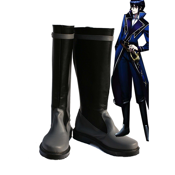 K Return of Kings Anime Munakata Reisi Cosplay Scarpe Stivali Carnevale