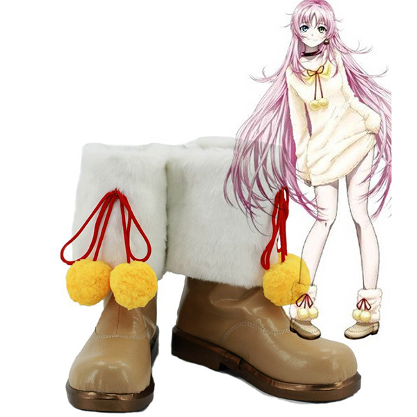 K Return of Kings Anime Neko Cosplay Shoes Boots Custom Made