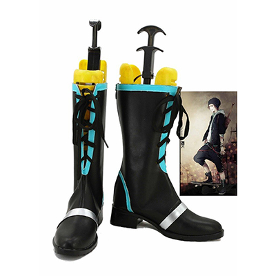 K Return of Kings Anime Yata Misaki Cosplay Schoenen Laarzen Speciaal Gemaakt