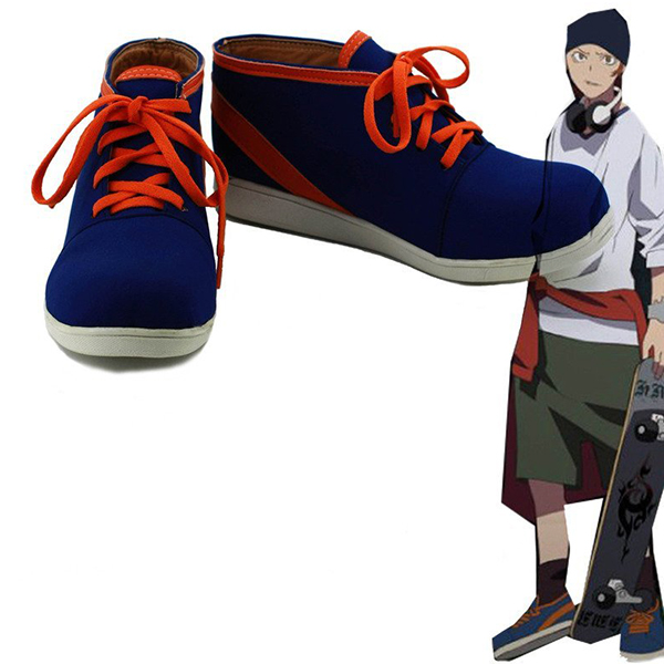 K Return of Kings Anime Yata Misaki Cosplay Shoes Boots Custom Made