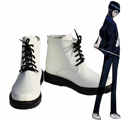 K Return of Kings Anime Yatogami Kuroh Cosplay Schoenen Laarzen Speciaal Gemaakt