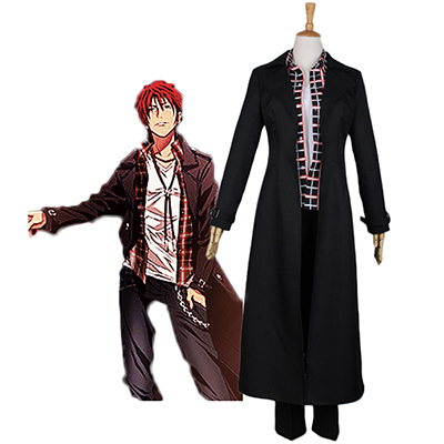 K Return of Kings Mikoto Suoh Cosplay Puku Halloween Asut