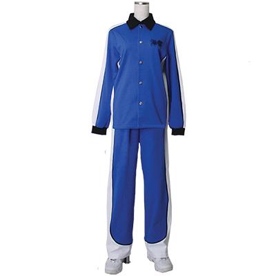 Costumi Kuroko No Basketball (Kuroko's Basketball) Kise Ryota jersey Manica Lunga blue Cosplay