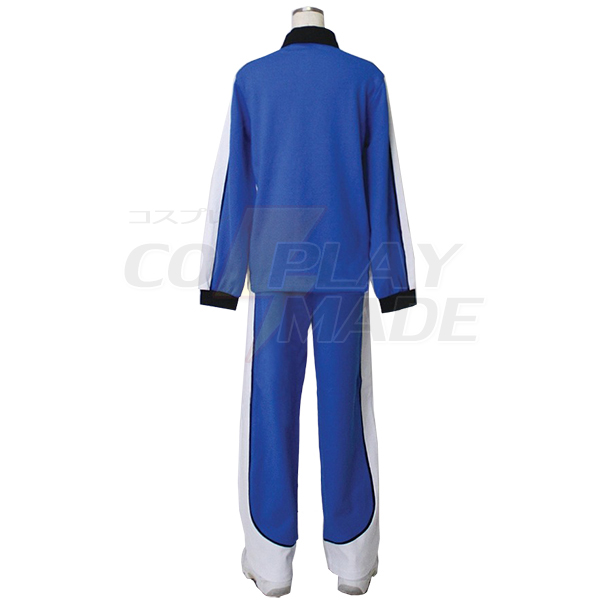 Costumi Kuroko No Basketball (Kuroko\'s Basketball) Kise Ryota jersey Manica Lunga blue Cosplay