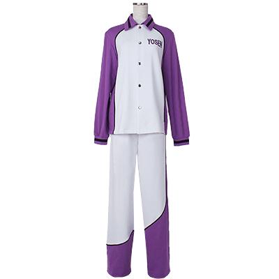 Disfraces Kuroko No Basketball (Kuroko's Basketball) Yousen Escuela Secundaria Atsushi Murasakibara Long Sleeve Jersey Uniforme Anime Cosplay