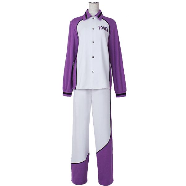 Disfraces Kuroko No Basketball (Kuroko\'s Basketball) Yousen Escuela Secundaria Atsushi Murasakibara Long Sleeve Jersey Uniforme Anime Cosplay