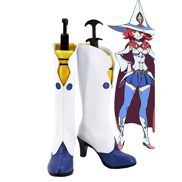 Little Witch Academia Ursula Callistis Shiny Chariot Boots Cosplay Costume