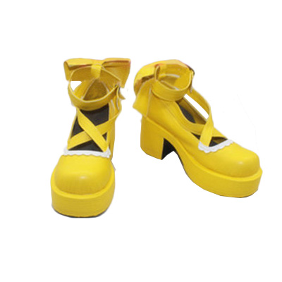 LoveLive Rin Hoshizora Cosplay Shoes Boots Professional Handmade ! Perfect Custom for You !