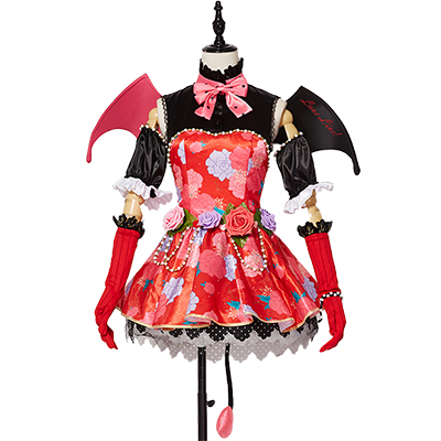 Lovelive Honoka Kous Little Demon∕Devil Cosplay Jelmez Karnevál Ruhák Halloween