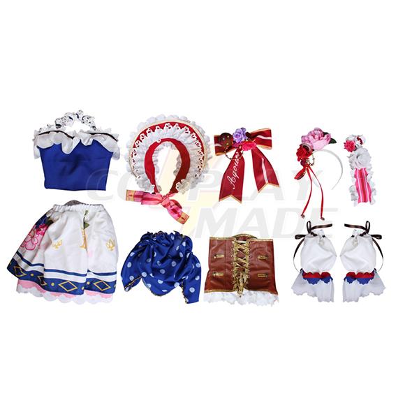Love Live sunshine kanan Matsuura Maid Cosplay Costumes