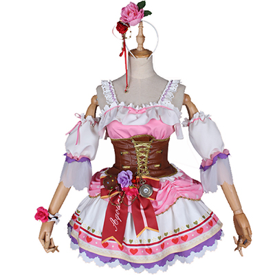 Disfraces Love Live sunshine Sakurauchi Riko Maid Cosplay