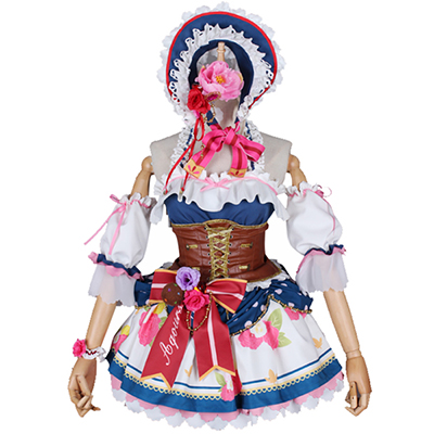 Costumi Love Live Sunshine Tsushima Yoshiko Maid