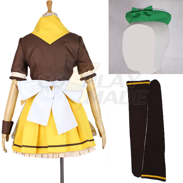 Love Live Koizumi Hanayo Maid Dress Cosplay Costume Halloween