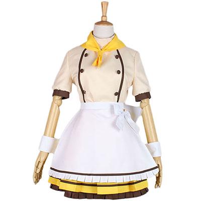 Disfraces Love Live Kousaka Honoka Maid Vestido Cosplay Halloween