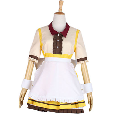 Love Live Minami Kotori Maid Dress Cosplay Costume Halloween