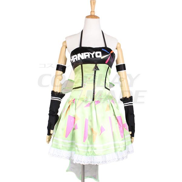 Love Live school idol festival Koizumi Hanayo Dress Cosplay Costume