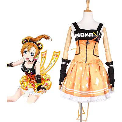 Costumi Love Live school idol festival Kousaka Honoka Vestito Cosplay