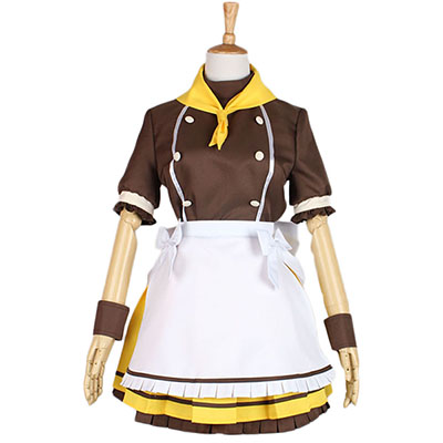 Love Live Yazawa Nico Maid Dress Cosplay Costume Halloween