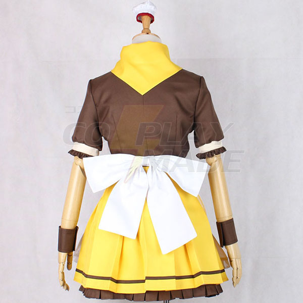 Disfraces Love Live Yazawa Nico Maid Vestido Cosplay Halloween