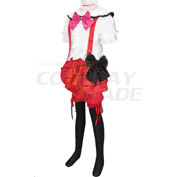 Love Live Yazawa Niko White Lolita Dress Cosplay Costume
