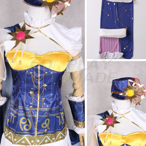 Costumi Love Live! Constellation Ver. Nishikino Maki Cosplay