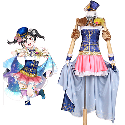 Love Live! Constellation Ver. Yazawa Nico Cosplay Puku Asut