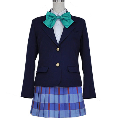 Love Live! Ayase Eli Otonokizaka High School Uniform Anime Cosplay Costume