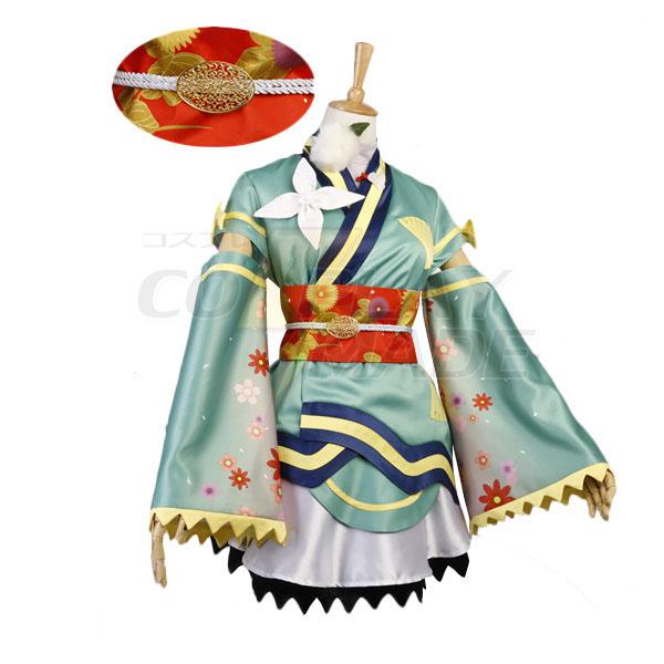 Disfraces Love Live! Kotori Minami Uniforme Cosplay Halloween