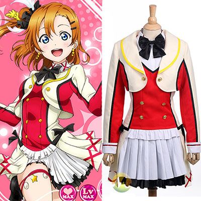 Love Live! Kousaka Honoka Dress Cosplay Costumes Halloween