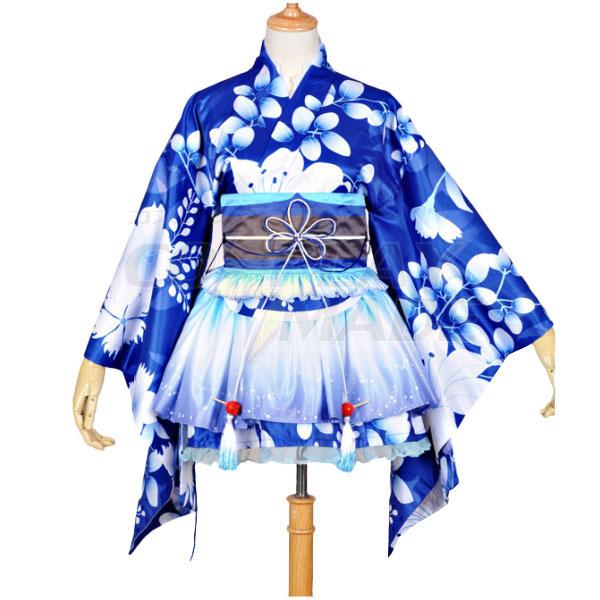 Costumi Love Live! Umi Sonoda Kimono Halloween
