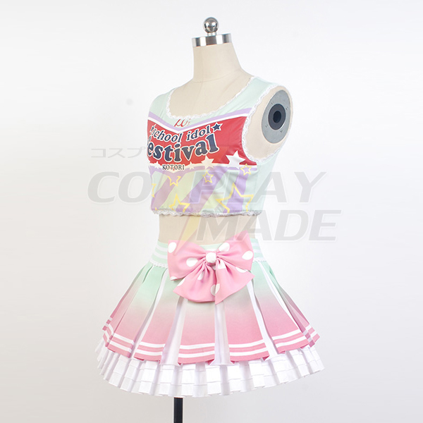 Costumi Love Live! Cheerleaders Kotori Minami Uniforme Cosplay