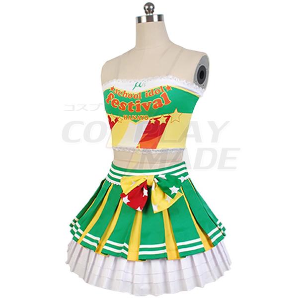 Costumi Love Live! Hanayo Koizumi Cheerleaders Uniforme Cosplay