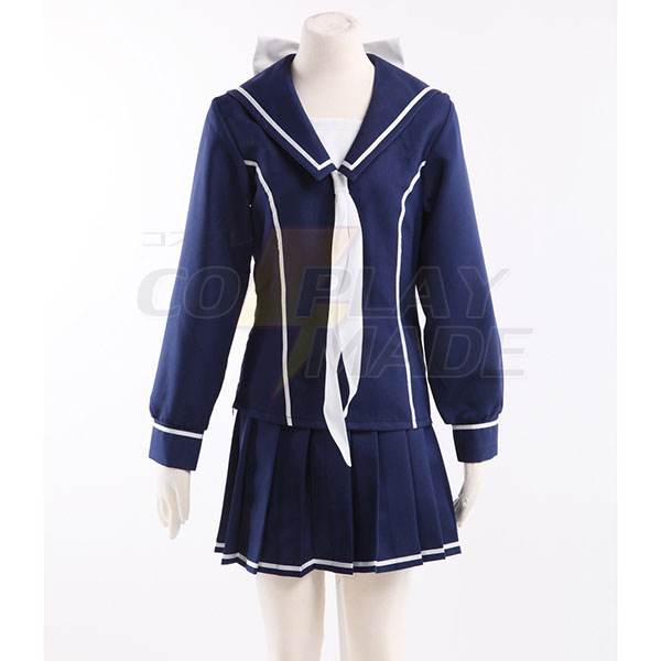 Love Plus Towano High School Girls School Uniform Cosplay Costume
