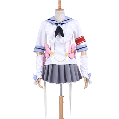 Magical Girl Raising Project Himekawa Koyuki Cosplay Kostuums