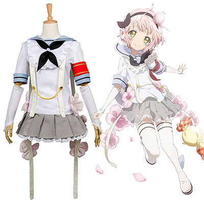 Costume Magical Girl Raising Project Mahou Shoujo Ikusei Keikaku Snow Blanc Cosplay Déguisement