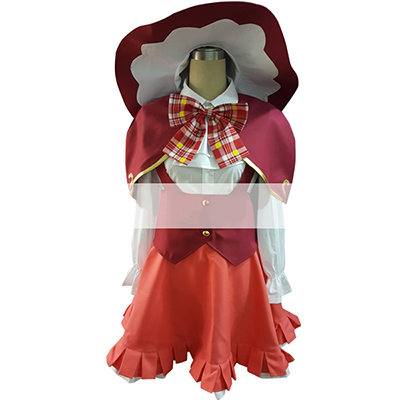 Maho Girls Precure! Asahina Mirai Cosplay Costume, Perfect Custom For You !