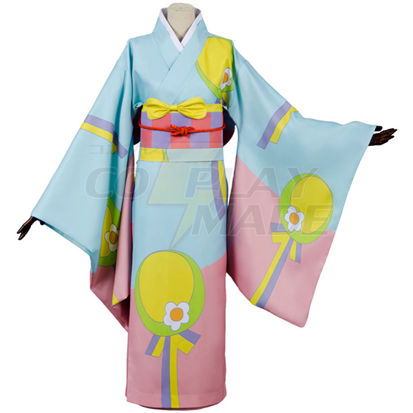 Costumi Miss Kobayashi-san Dragon Maid Kanna Kamui Kimono Cosplay