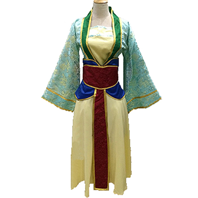 Mulan Princess Ccoaplay Costume Custom Dress For Women Halloween