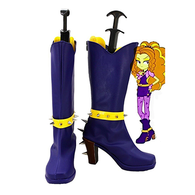 My Little Pony Equestria Girls Rainbow Rocks Adagio Dazzle Cosplay Sapatos Chuteiras