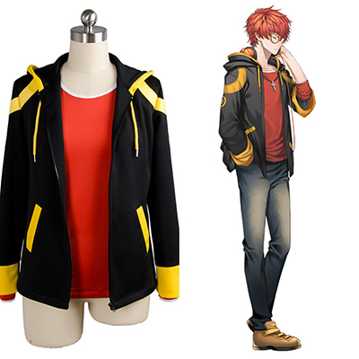Fantasias de Hot Jogos Mystic Messenger 707 Top Cosplay Halloween