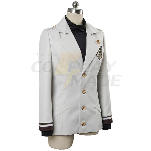 Mystic Messenger Military Uniform Cosplay Costume Halloween